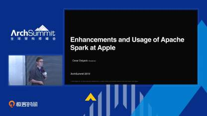 Apple Siri @ Spark, FoundationDB, Hadoop and HBase | ArchSummit